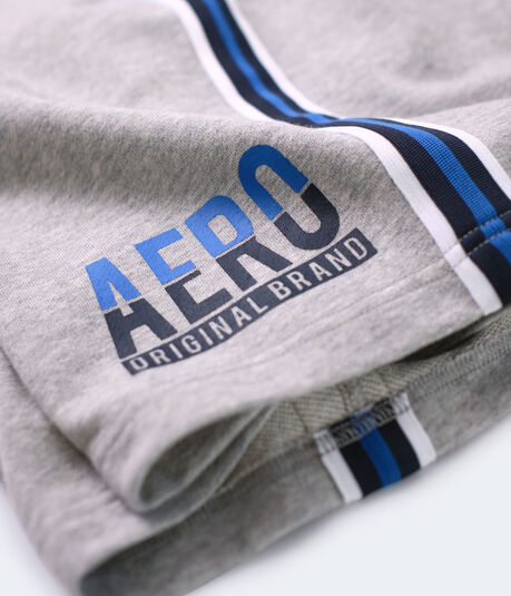 Aero Side-Stripe Fleece Shorts