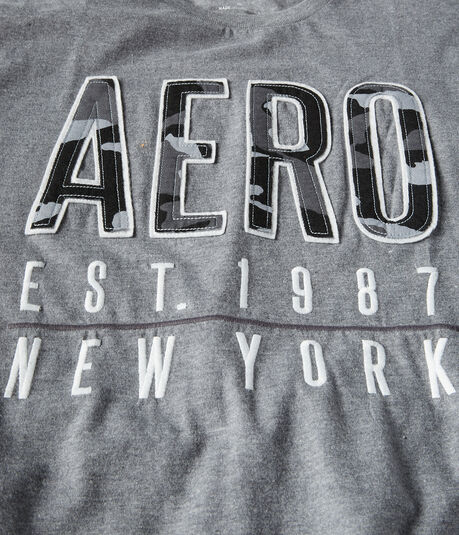 Aero New York 1987 Logo Graphic Tee