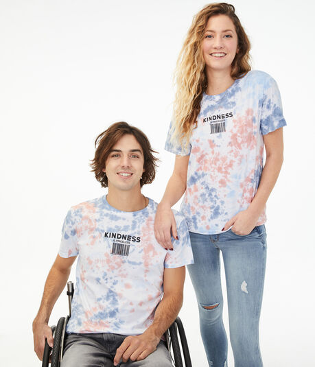 Aero One Kindness Tie-Dye Graphic Tee