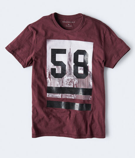 NYC Skyline 58 Graphic Tee