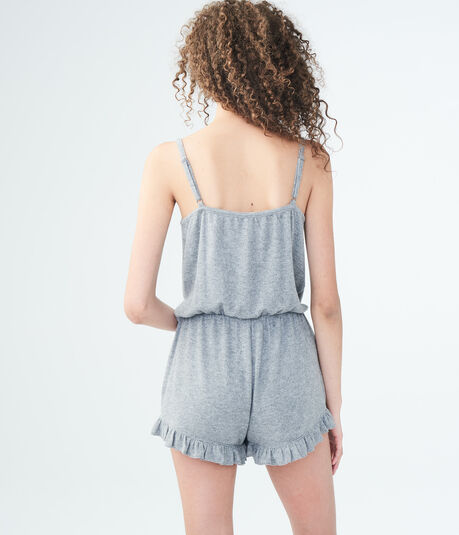 LLD Seriously Soft Ruffled Romper