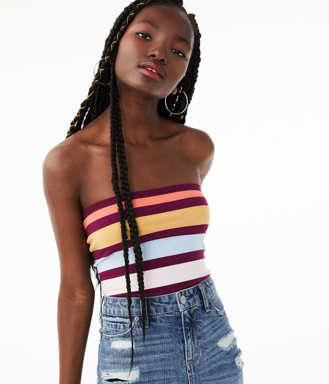 Seriously Soft Bold Stripe Tube Top by Aeropostale