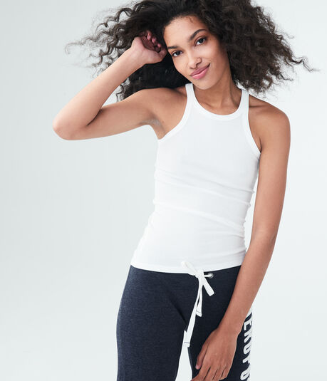 Solid Ribbed High-Neck Tank