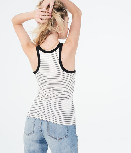 Feeder Stripe High-Neck Tank