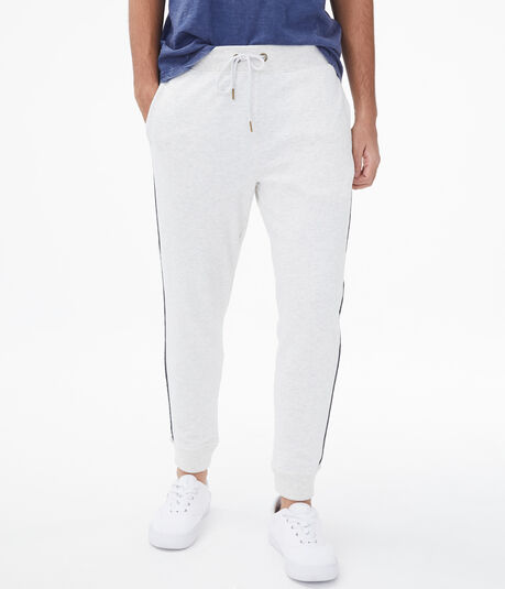 Piped Stripe Jogger Sweatpants