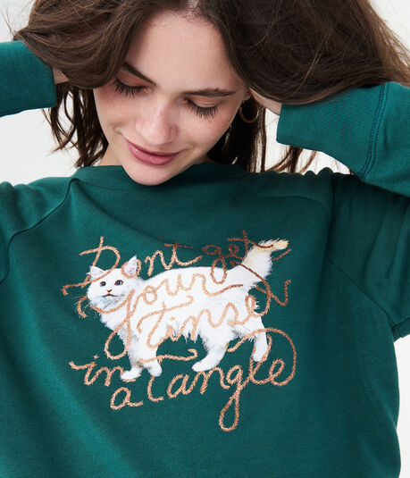 LLD Tinsel Tangle Yummy Sweatshirt