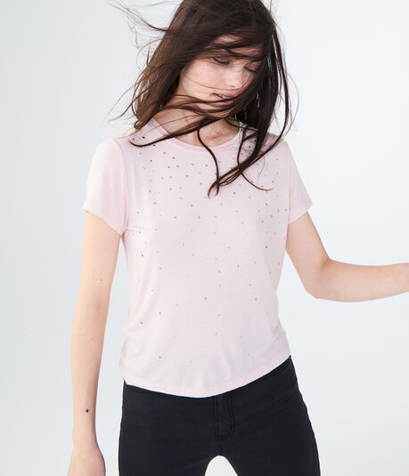Seriously Soft Embellished Girl Tee