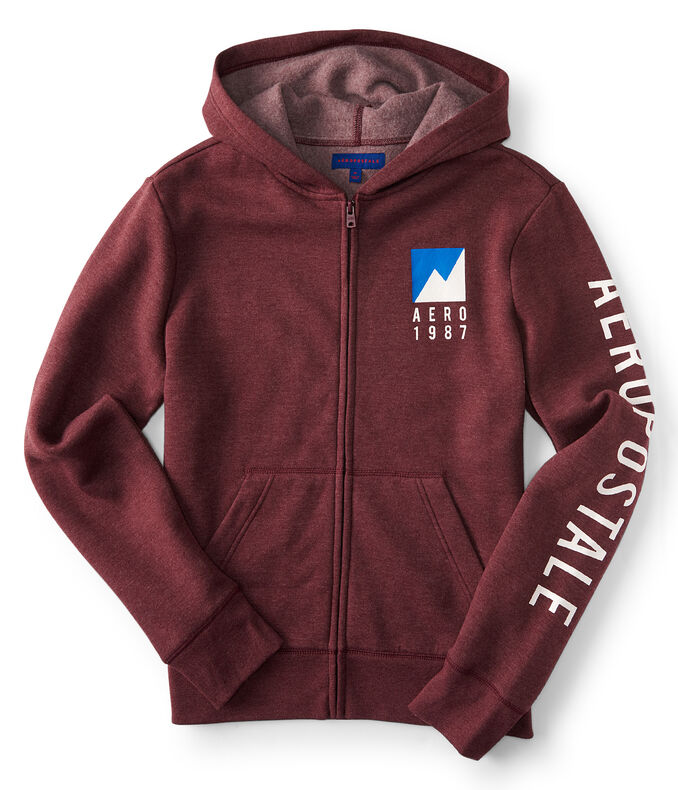 Aero 1987 Mountain Full-Zip Hoodie