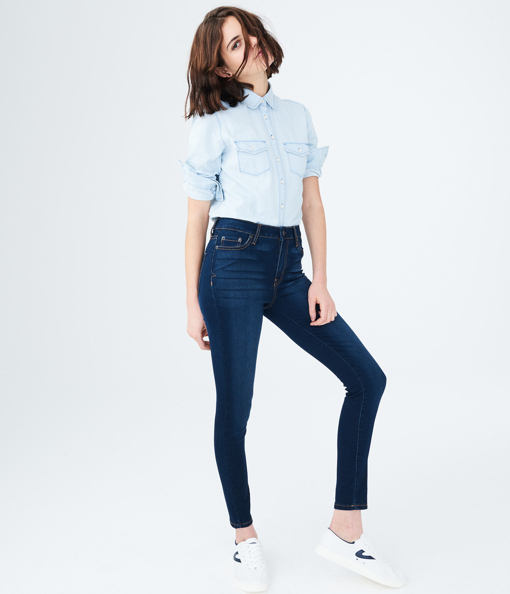 84aad2a37f7 Seriously Stretchy High-Waisted Jegging ...