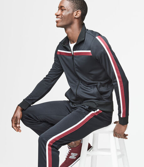 Chest Stripe Track Jacket