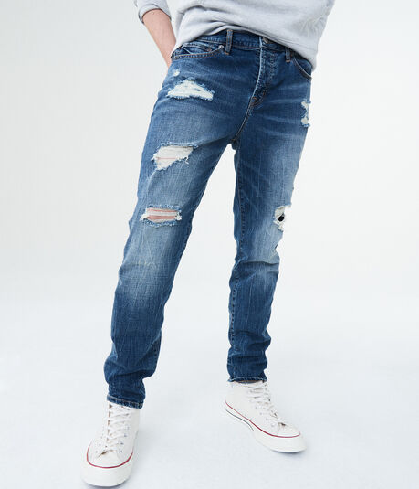 Aero One Medium Wash Skinny Jean