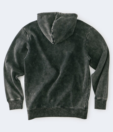 AC/DC Mineral Wash Pullover Hoodie