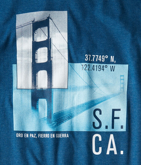 San Francisco Bridge Graphic Tee