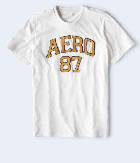 Distressed Aero 87 Graphic Tee