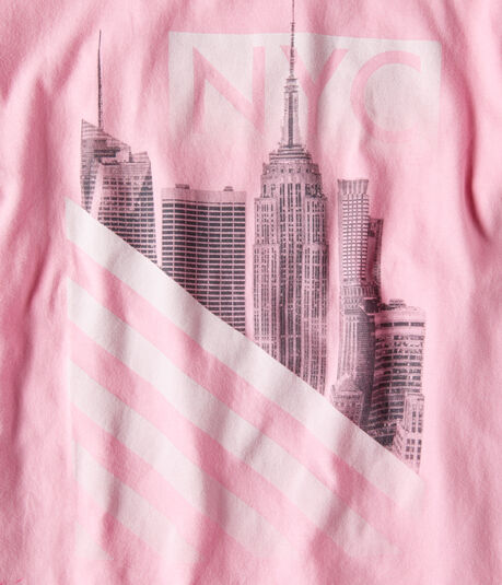 NYC Stripes Graphic Tee