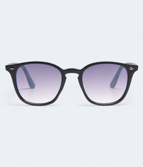 Matte Flat Lens Sunglasses