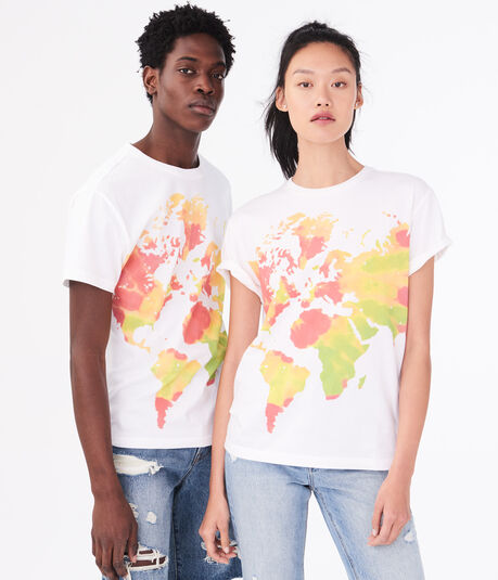 Aero One Earth Graphic Tee