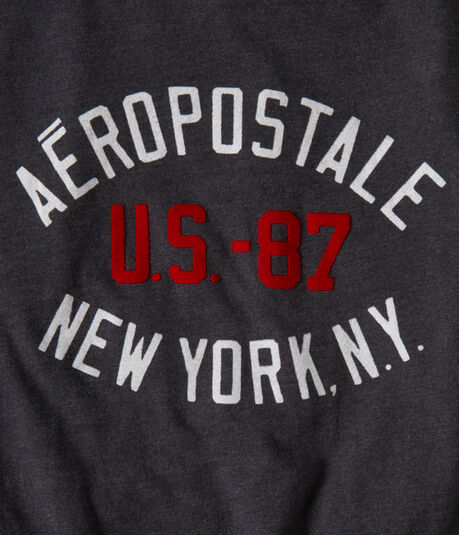 Aero US-87 NY Logo Graphic Tee
