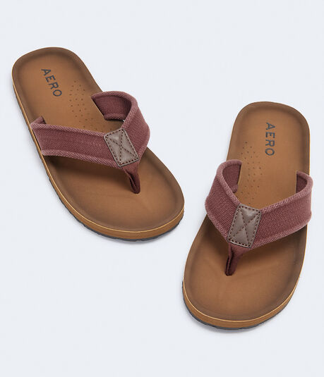 Aero Solid Canvas Flip-Flop
