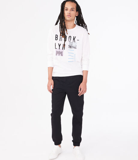 Long Sleeve Brooklyn Northeast Graphic Tee