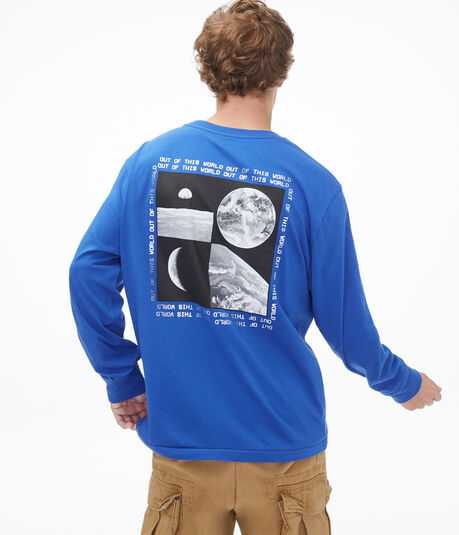 Long Sleeve Out Of This World Crew Tee