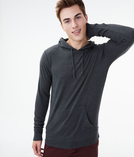 Long Sleeve Thermal Hooded Tee