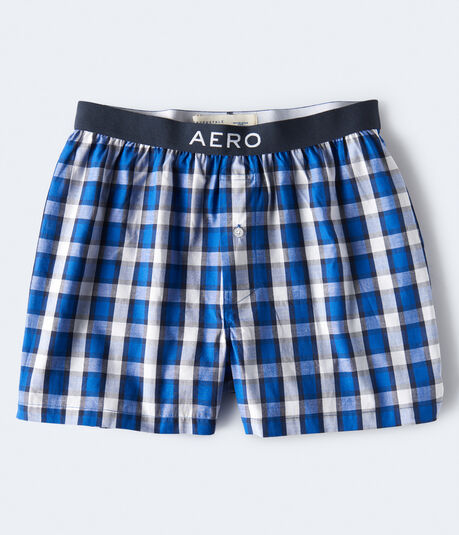 Gingham Plaid Woven Boxers