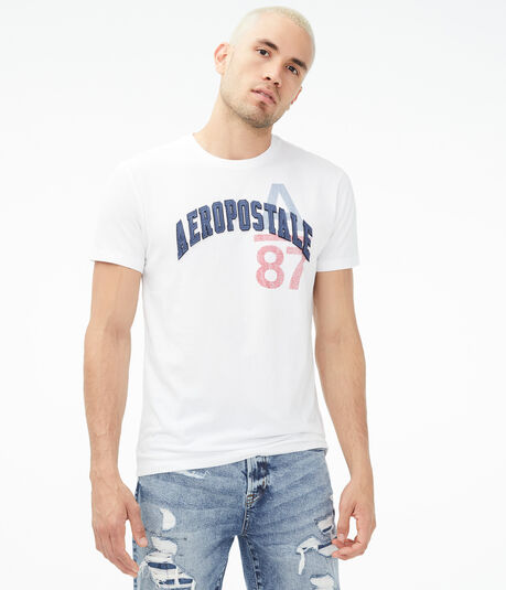 Aeropostale Arch Logo Graphic Tee