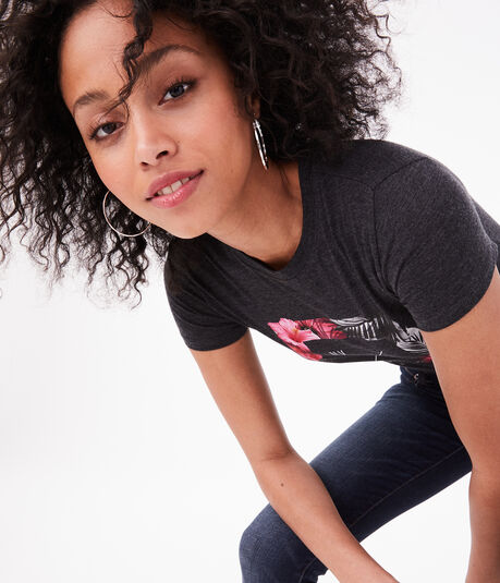 Free State Floral Square Graphic Tee