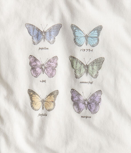 Butterfly Languages Graphic Tee