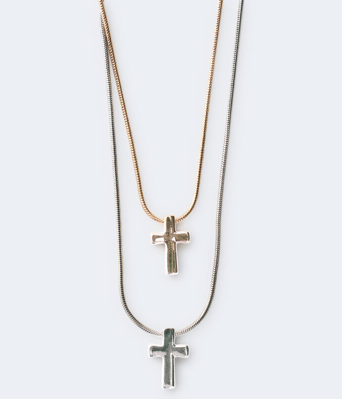 Cross Necklace 2-Pack