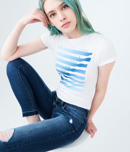 Free State Life's A Beach Graphic Tee