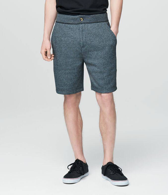 Prince & Fox Solid Knit Sweat Shorts