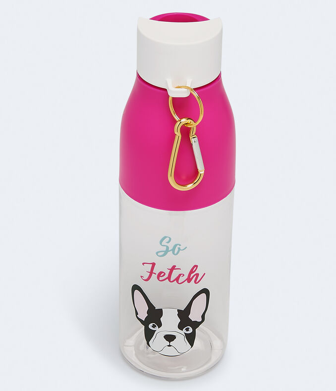 So Fetch Frenchie Water Bottle