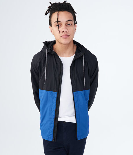 Colorblocked Windbreaker