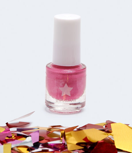 Life Is A Party Nail Polish Confetti Popper