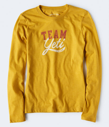 Long Sleeve Team Yeti Graphic Tee