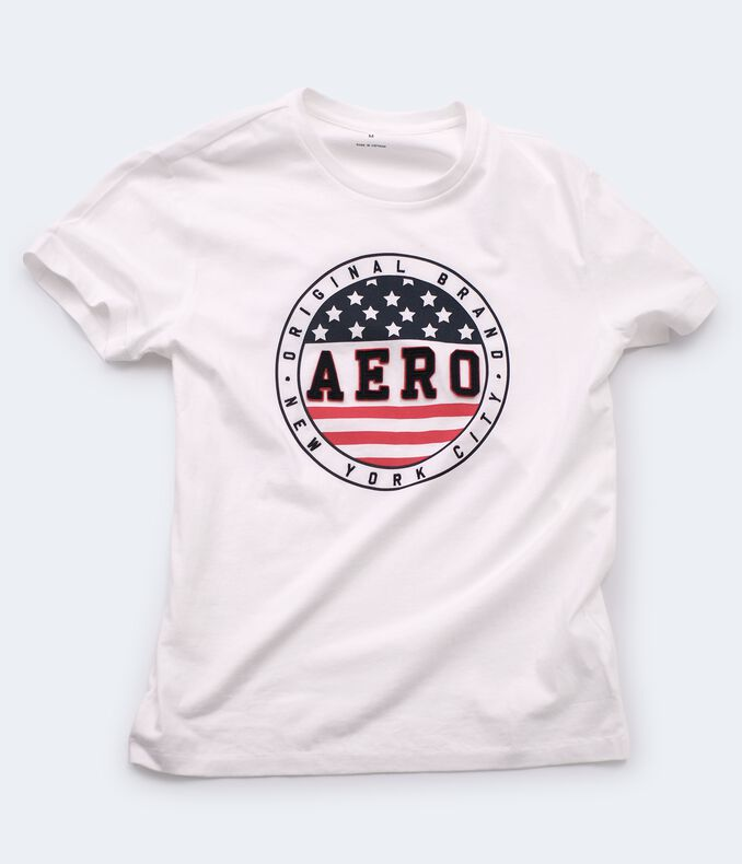 Aero Flag Circle Graphic Tee