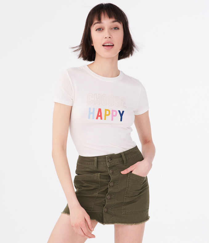 Choose Happy Graphic Tee