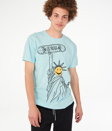 a1cb671e78561 In Skate We Trust Graphic Tee ...