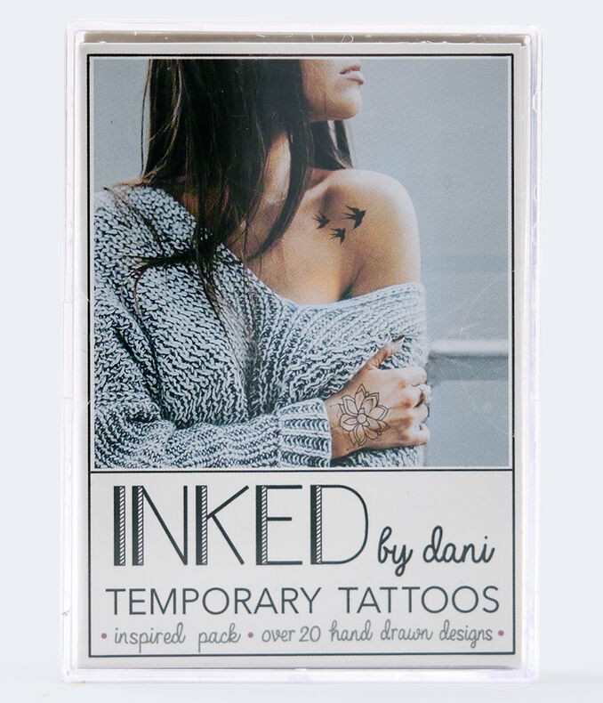 Inked By Dani Inspired Temporary Tattoos