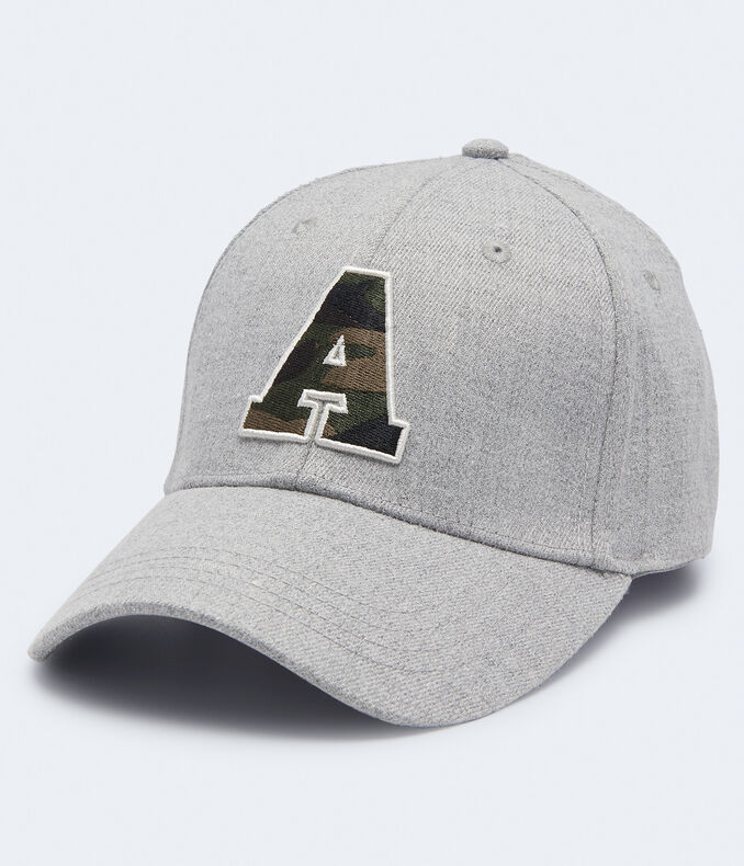 "Camo ""A"" Fitted Hat"