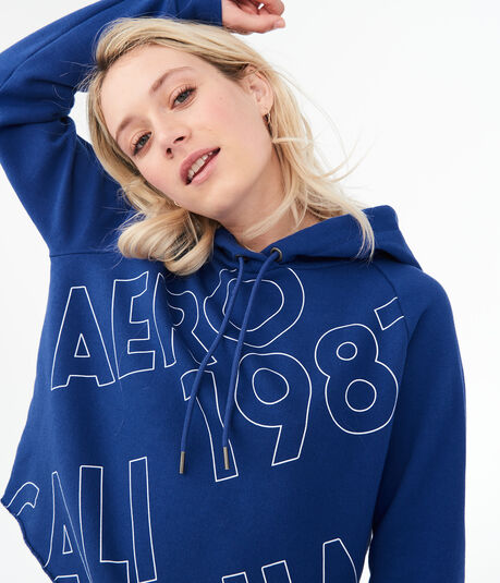 Aero Outline 1987 Pullover Hoodie***