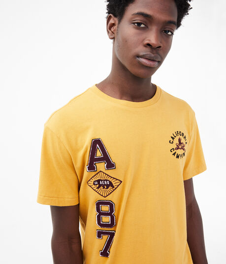A87 California Camping Graphic Tee