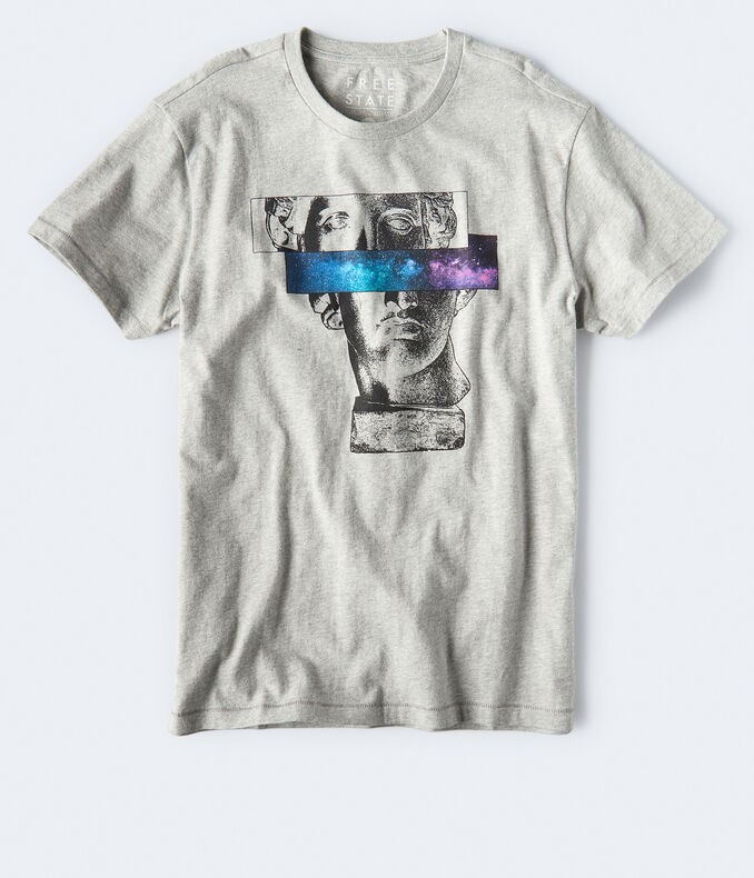 Free State Statue And Stars Graphic Tee