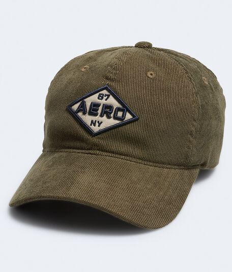 Aero Patch Corduroy Adjustable Hat