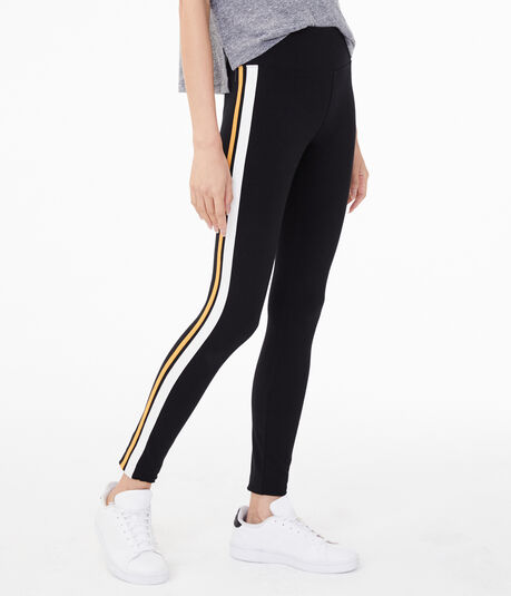 Dual Side Stripe Leggings