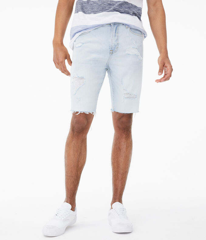 "Real Denim Slim Stretch 9.5"" Cutoff Shorts"
