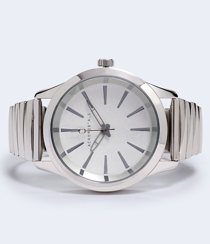 Stretch Metal Analog Watch