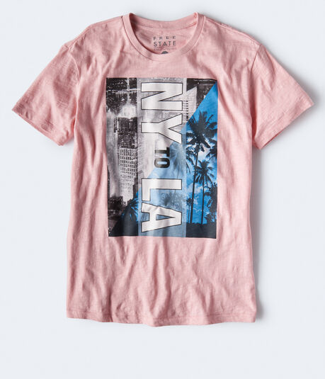 Free State NY To LA Graphic Tee